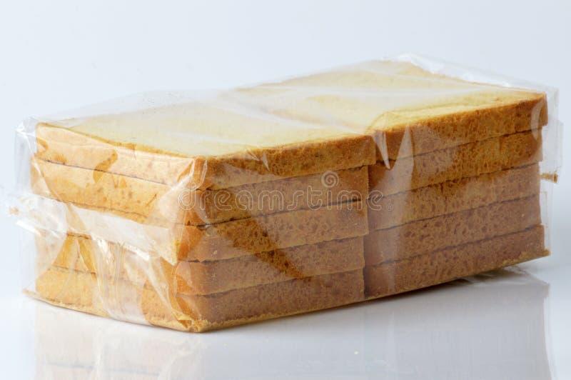 小组面包干 免版税库存图片