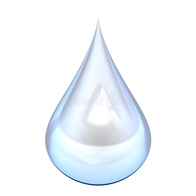 小滴水 向量例证