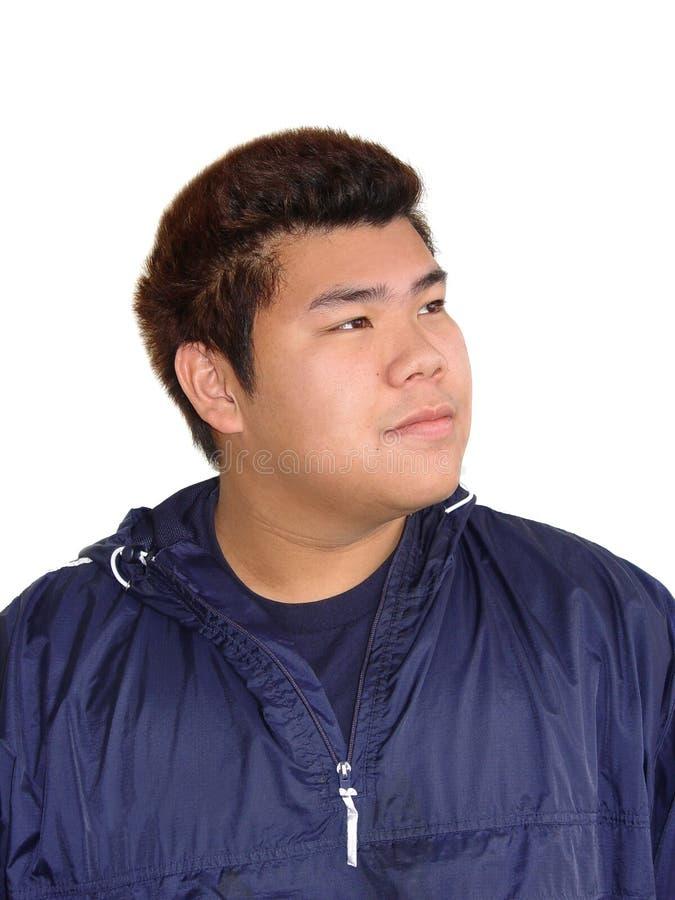 少年亚裔的男孩 库存照片