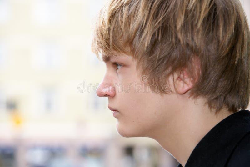 少年的男孩 免版税库存照片