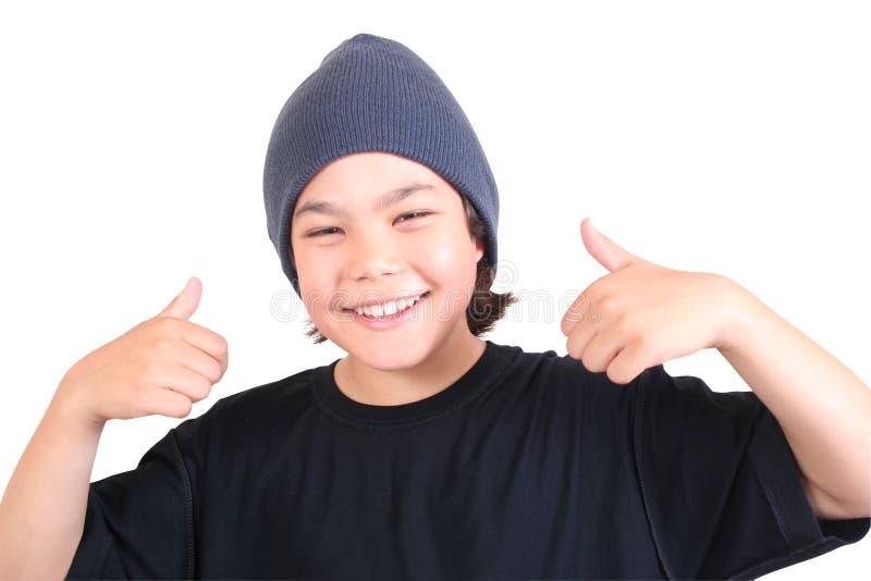 少年的系列 免版税库存照片
