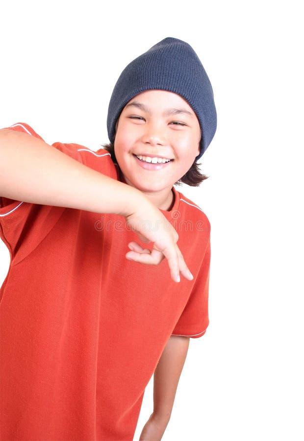 少年的系列 库存照片