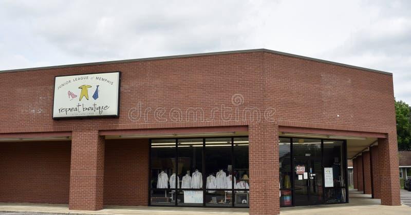 少年联盟重复精品店,孟菲斯,TN 免版税库存图片