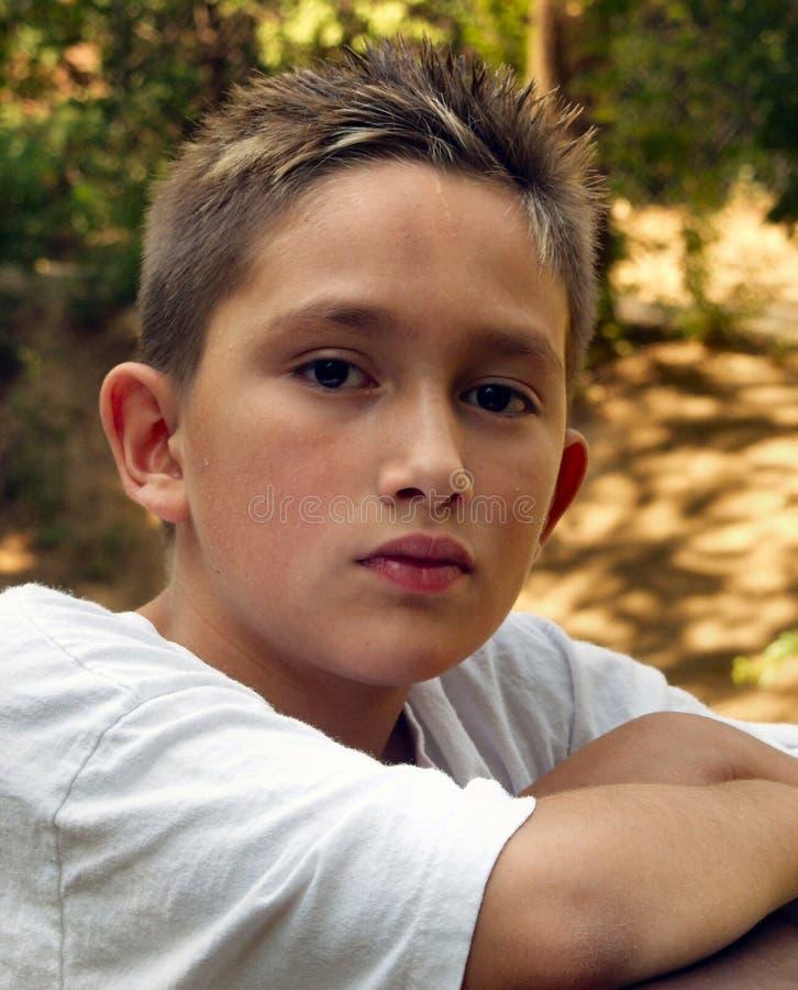 少年 免版税图库摄影
