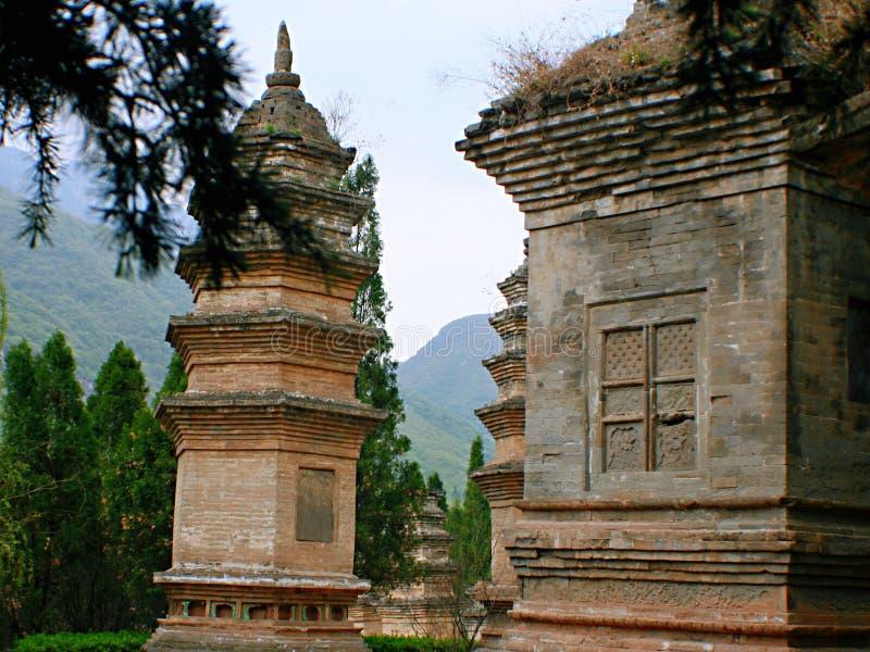 少林寺在松山 图库摄影