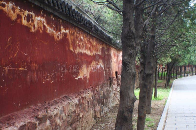 少林寺在松山 免版税库存照片