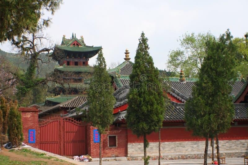 少林寺在松山 库存图片