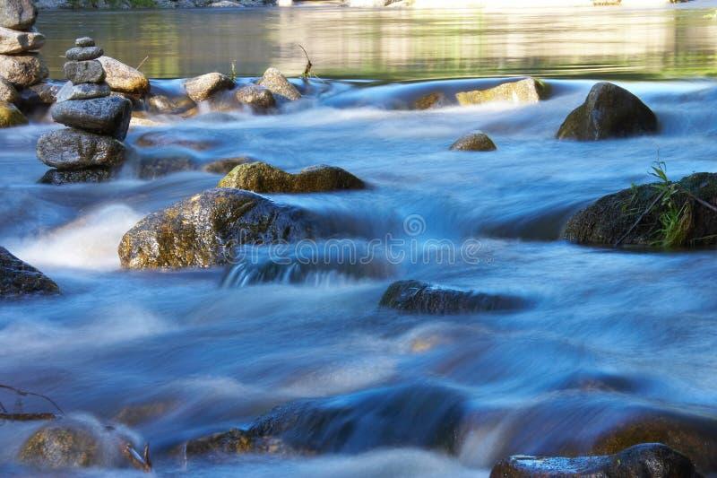 少许许多河石头 图库摄影