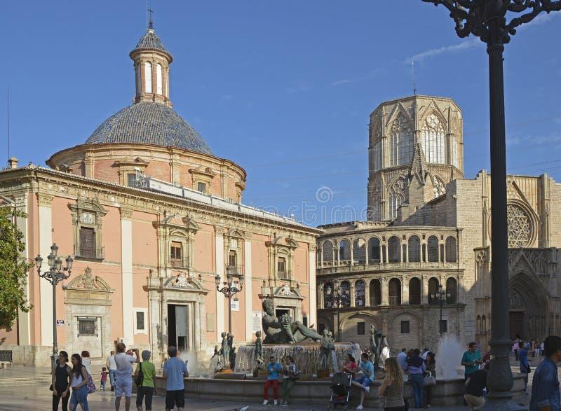 维尔京的地方在巴伦西亚,西班牙 免版税库存图片