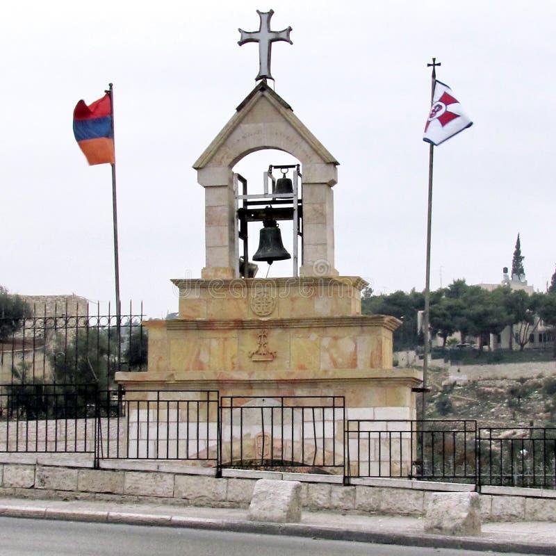 维尔京钟楼的耶路撒冷坟茔2012年 图库摄影