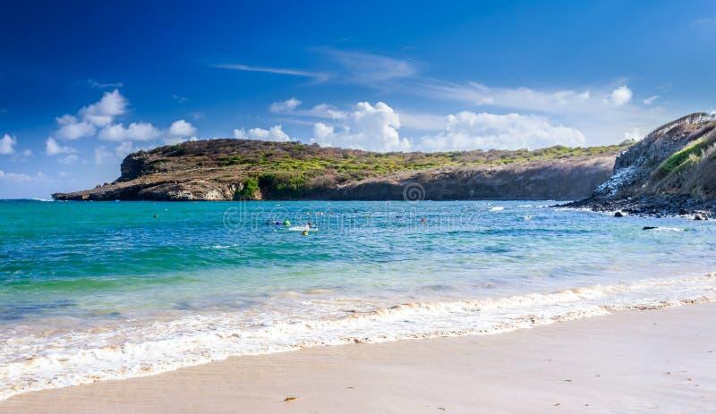 费尔南多・迪诺罗尼亚群岛,在Brazi东北部的小岛  免版税图库摄影