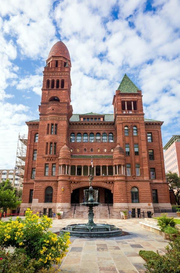 贝尔县区域法院在圣安东尼奥 库存照片