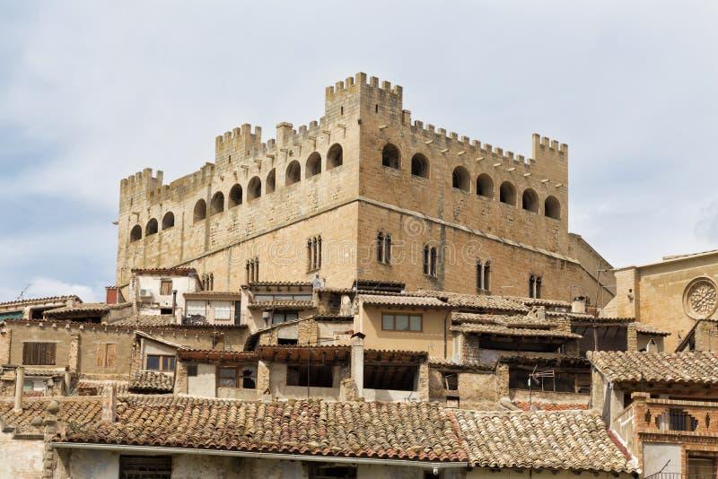巴尔德罗夫雷斯城堡 免版税库存照片