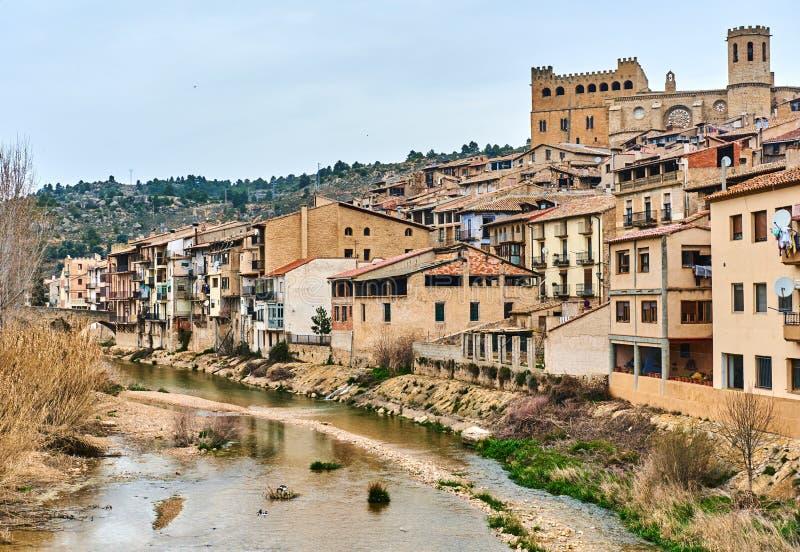 巴尔德罗夫雷斯村庄,西班牙 免版税库存照片