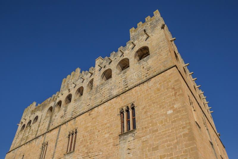 巴尔德罗夫雷斯historcal城堡的门面  库存照片