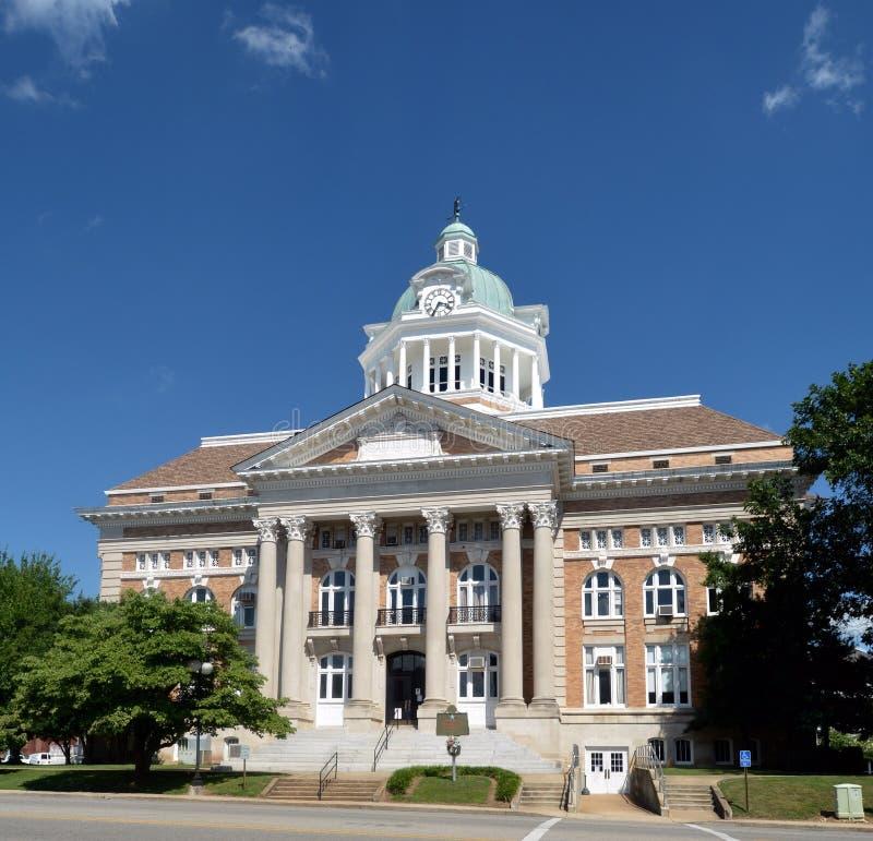 贾尔斯县法院大楼 库存图片