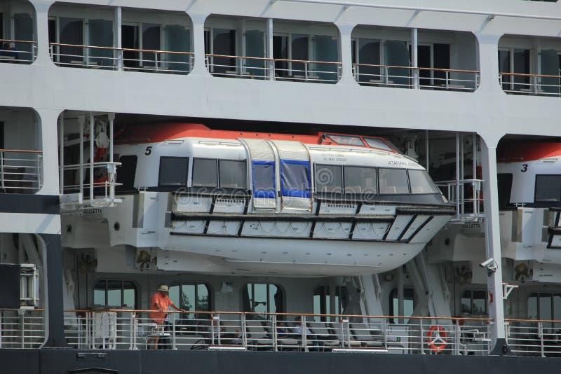 费尔森,荷兰- 2017年6月20日:Azamara旅途- Azamara俱乐部巡航 免版税库存图片