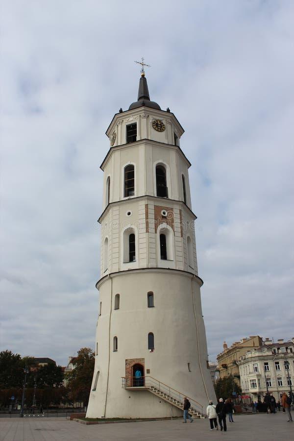 维尔纽斯大教堂Basilyka在立陶宛 库存照片
