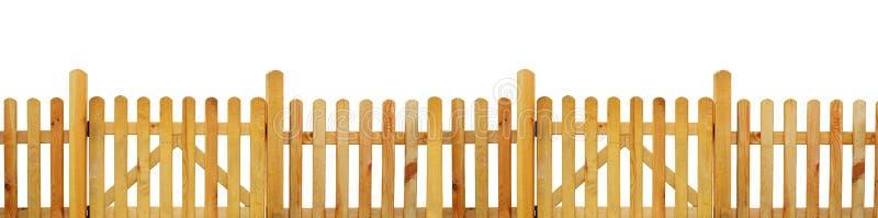 尖桩篱栅,庭院篱芭 库存图片