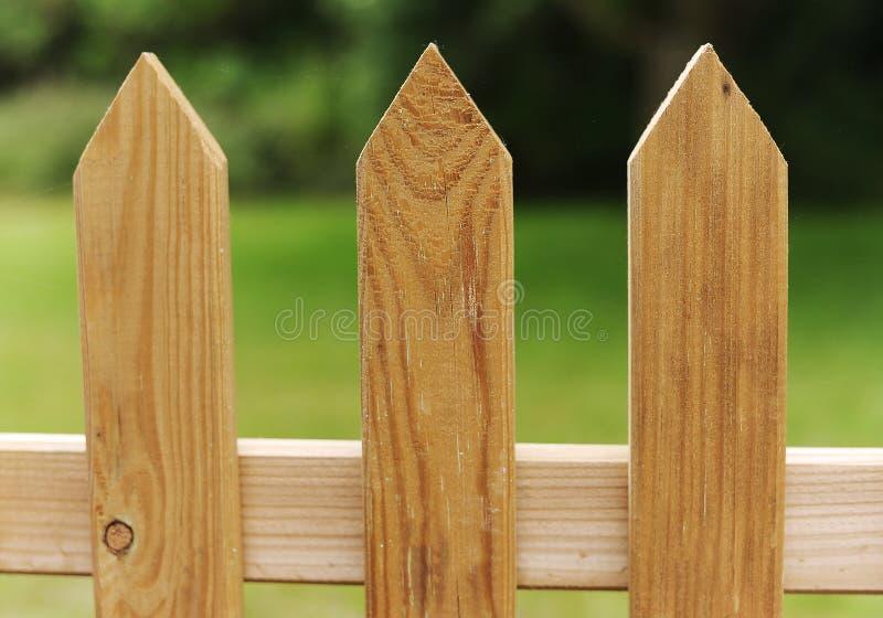 尖桩篱栅 图库摄影