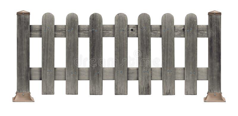 尖桩篱栅Grunge 库存图片