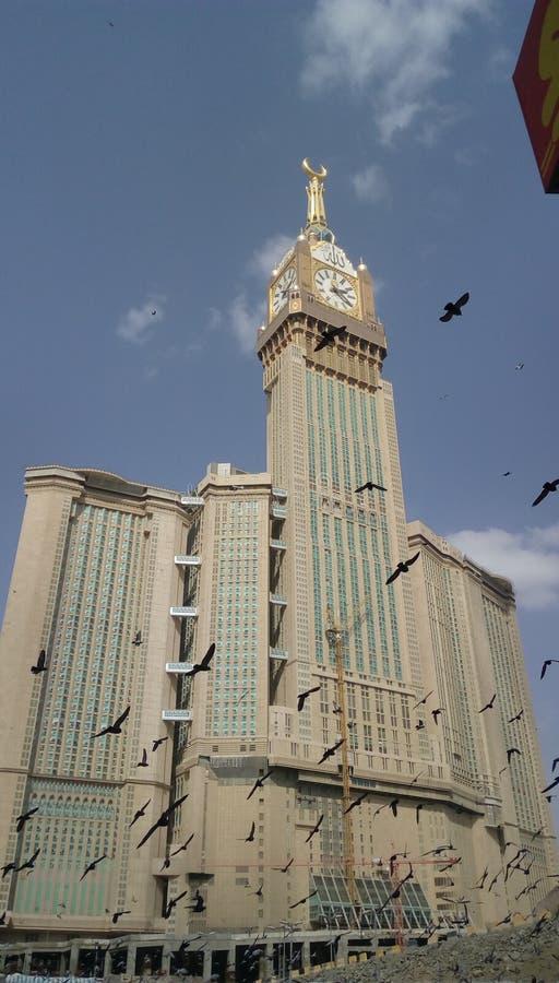 尖沙咀钟楼Makkah 库存图片