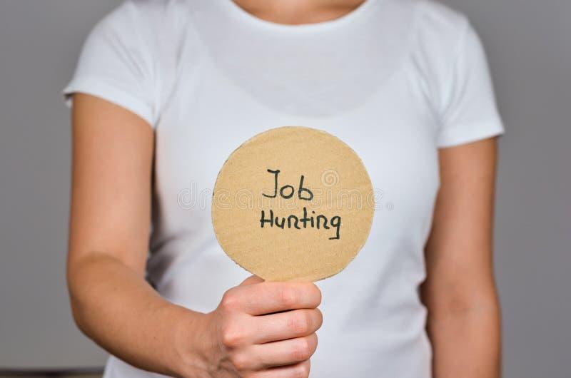 就业和职业变化 库存照片