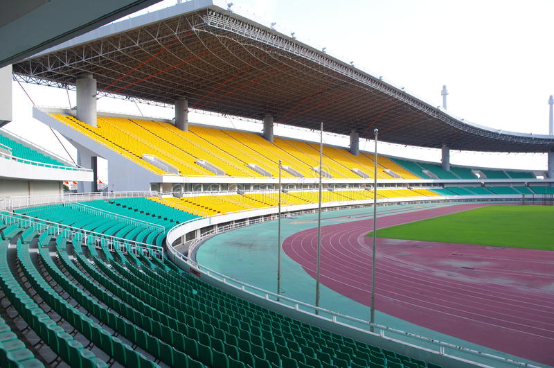 Download 就座体育场 库存图片. 图片 包括有 竞技场, 上升, 足球, 正常, 缺少颜色, 整洁, 位子, 橙色 - 22354559