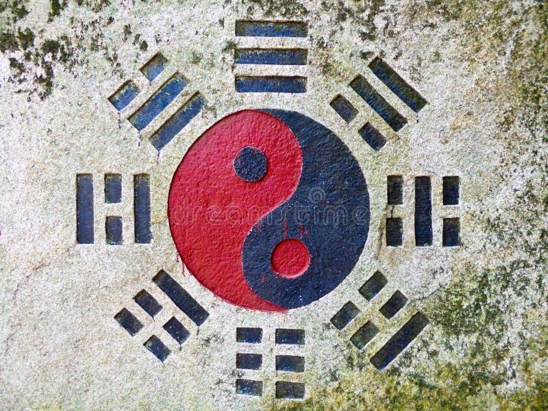 尹杨老山山大岩石在青岛 免版税库存照片