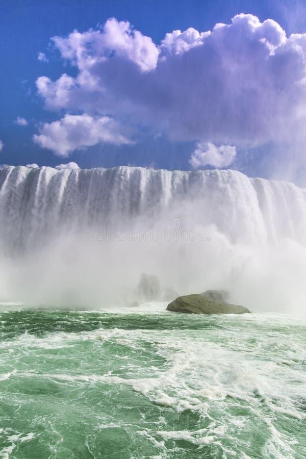 尼亚加拉大瀑布加拿大美国 免版税图库摄影
