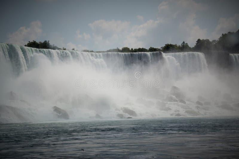 尼亚加拉瀑布, Canada/USA 免版税图库摄影