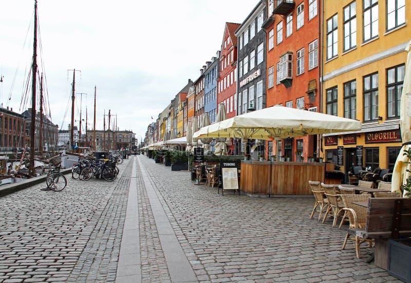 尼哈文在哥本哈根 免版税库存图片