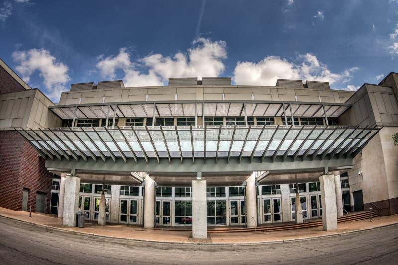 尼尔Kocurek纪念奥斯汀会议中心入口 库存照片