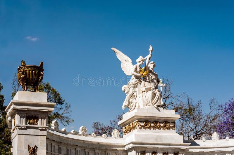 贝尼托华雷斯纪念碑 库存图片