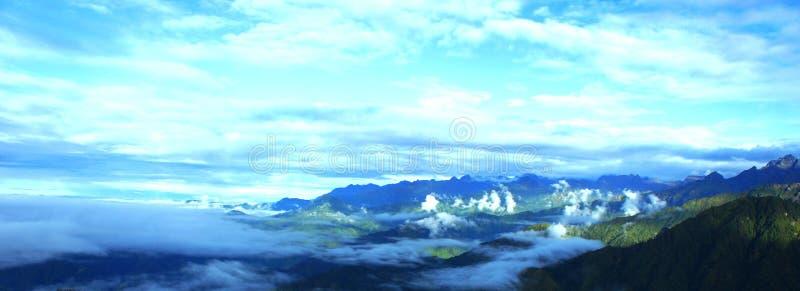 尼泊尔的秀丽 免版税库存图片