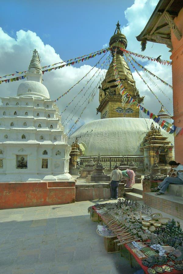 尼泊尔,加德满都 免版税库存照片
