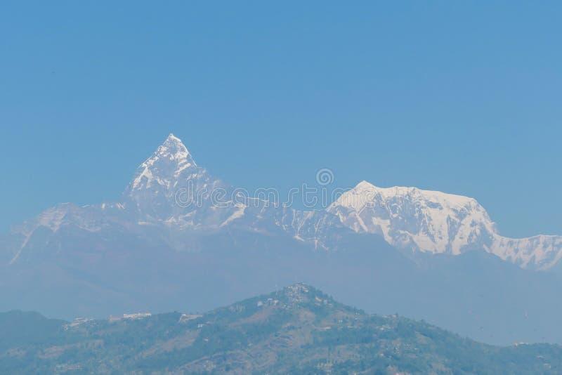 尼泊尔-安纳布尔纳峰链子 库存图片