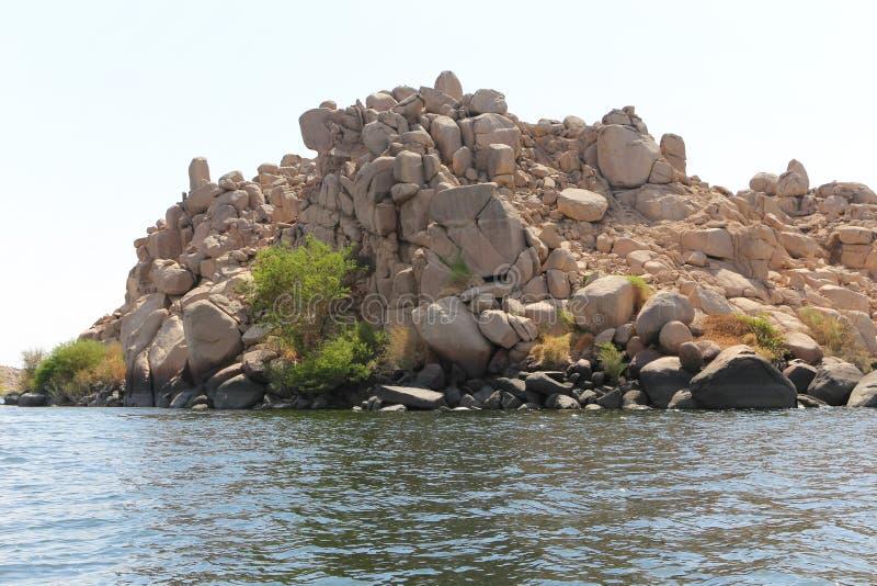 尼罗河海岛-非洲 免版税图库摄影