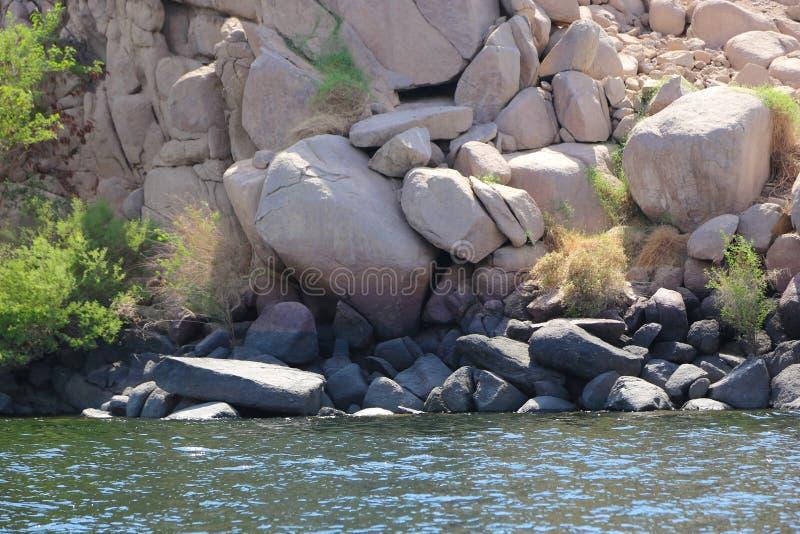 尼罗河海岛-非洲 库存照片