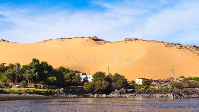尼罗 埃及 图库摄影