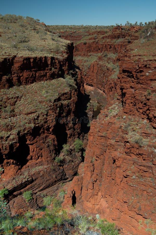 尾牙峡谷,卡瑞吉尼国家公园 图库摄影