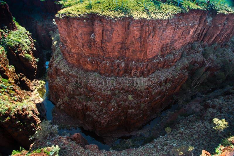 尾牙峡谷,卡瑞吉尼国家公园 免版税库存图片