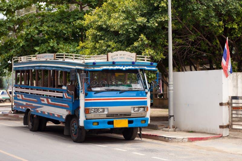 局部总线在普吉岛,泰国 库存图片