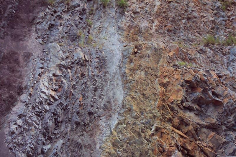 层数土壤 库存图片