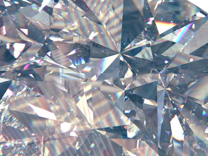 层状纹理三角金刚石或水晶塑造背景 3d翻译模型 免版税库存图片