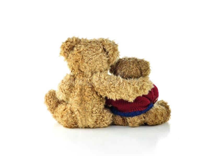 居丧玩具熊 免版税库存照片
