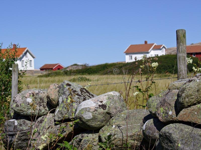 居住在Ramvikslandet 免版税库存图片