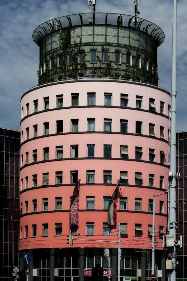 居民住房在汉堡 库存照片