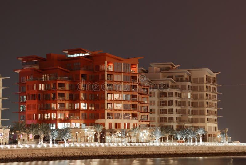 居民住房在麦纳麦,巴林 免版税库存照片