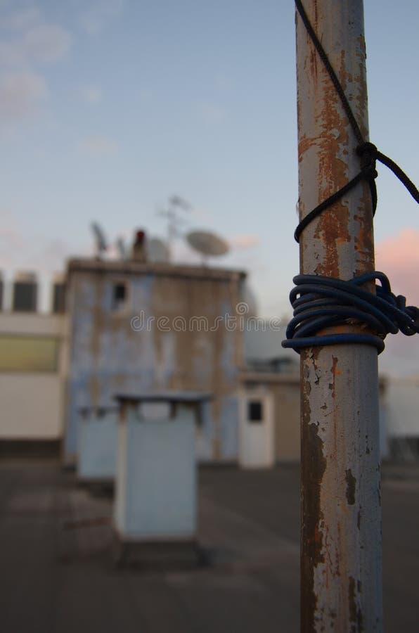 屋顶在伊斯坦布尔 图库摄影